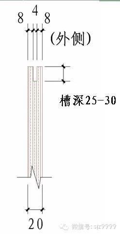 石材墙幕做法——详细节点图_11