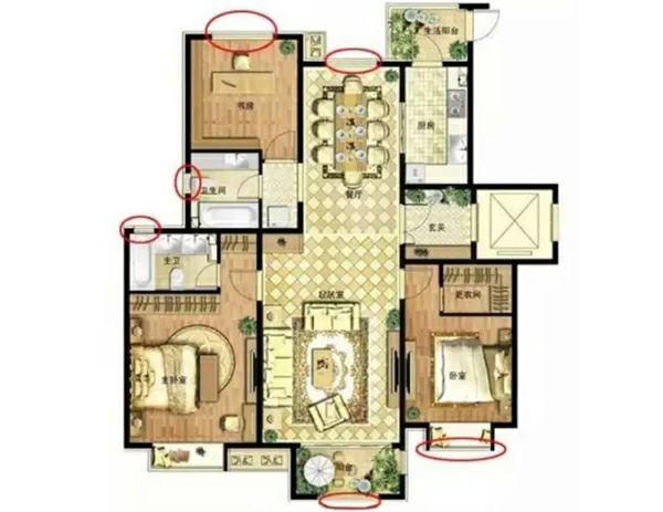 8个户型常识,买房装修必须要知道!_9