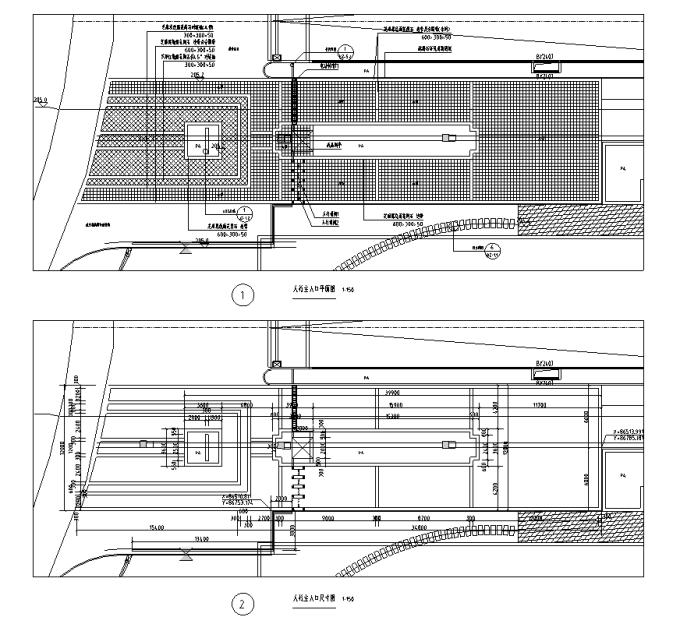 [重庆]生态组团式公租房景观设计全套施工图(园建+绿化+水电)_10