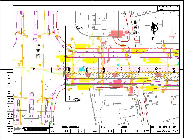 市政道路工程排水施工设计图