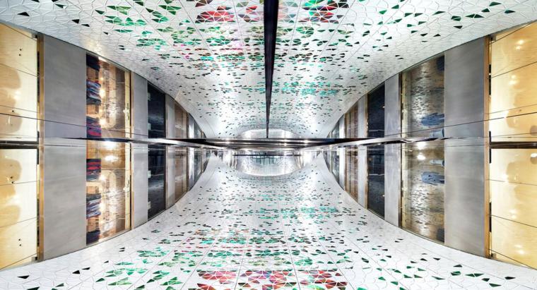 法国春天商场中庭空间改造