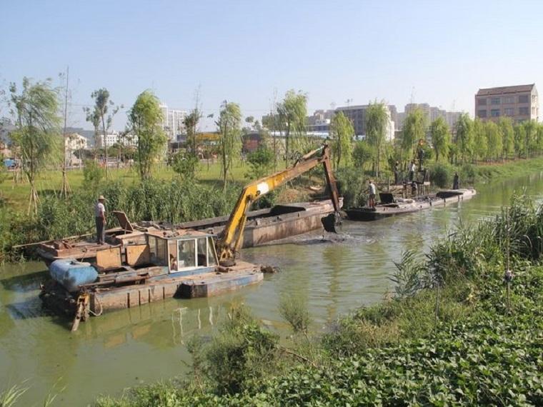 河道清淤方案施工组织设计资料下载-河道清淤施工组织设计Word版(共117页)