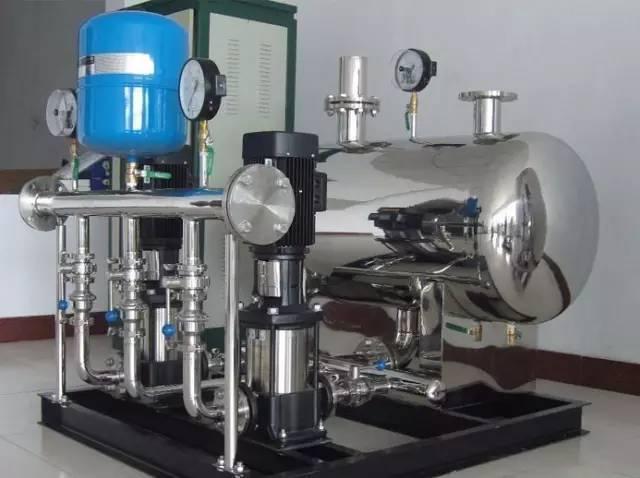 v型滤池安装注意事项资料下载-无负压供水设备选型及注意事项
