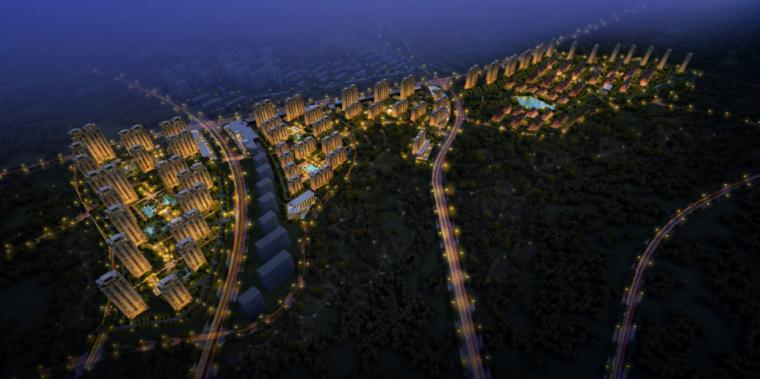 [山东]青岛多地块居住区建筑规划设计方案文本(PPT)