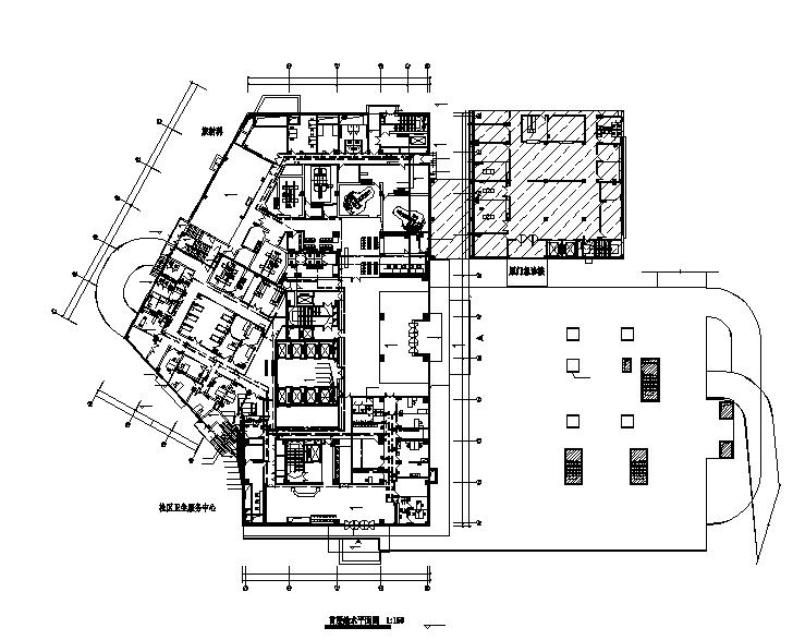 长沙22层中心医院给排水设计施工图