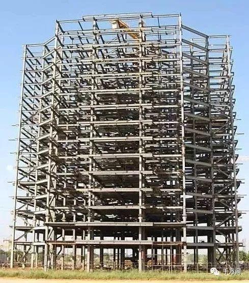 高层施工必不可少,悬挂式钢结构施工
