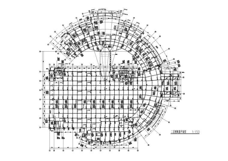 五層框架結構圖書館施工圖(建筑結構水暖電消防,含計算書)