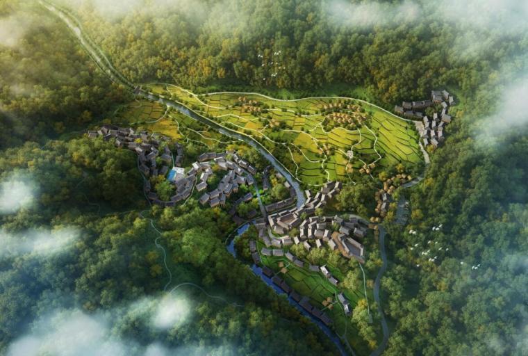 [贵州]雷山苗寨主题酒店区景观方案概念规划设计(PDF+94页)