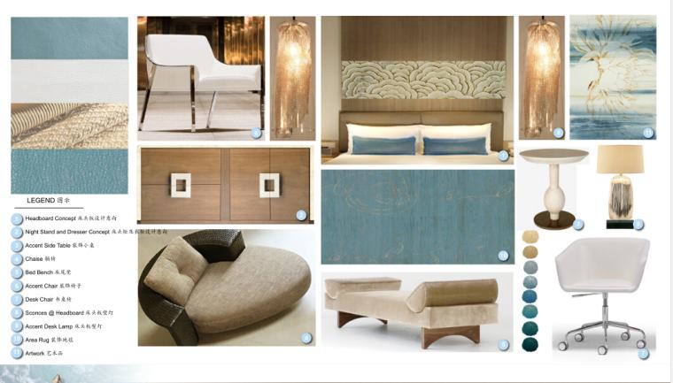 [三亚]某豪华酒店样板房方案设计施工图(含效果图及软装)_6