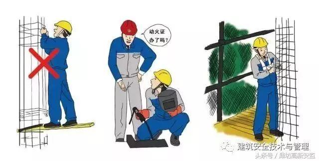 建筑施工安全规范图解,图文并茂,用作安全教育再合适不过!_23