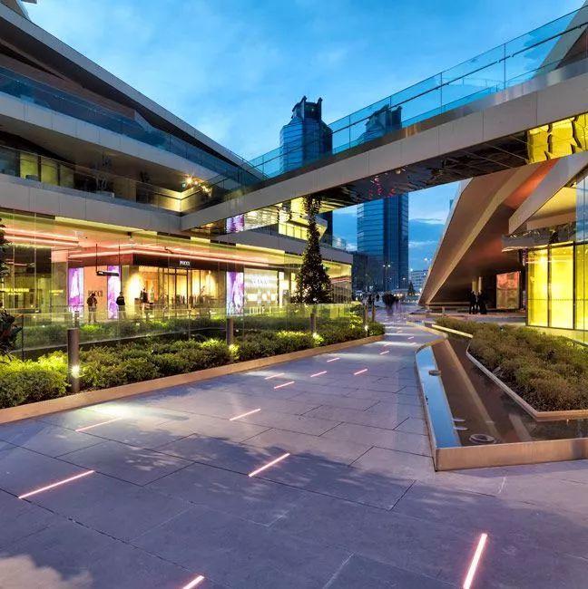 设计赏析|商业街景观设计也可以很惊艳