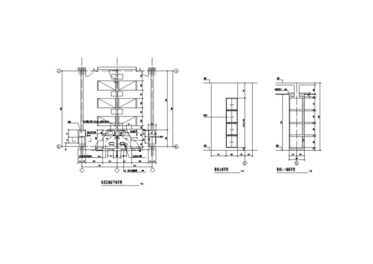青岛医院综合楼室内装修全套施工图(43张)