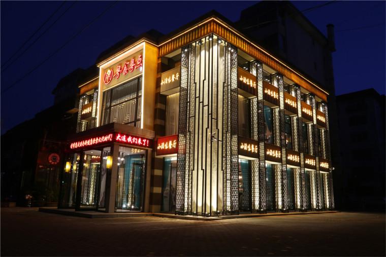 [特色餐厅设计]大连粤食粤点餐厅项目设计实景照片震撼来袭-300A0902.JPG