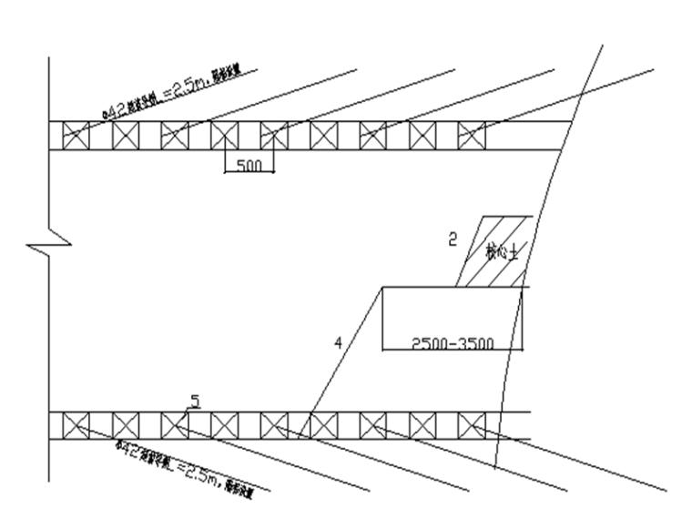 热网工程顶管穿越道路隧道暗挖方案