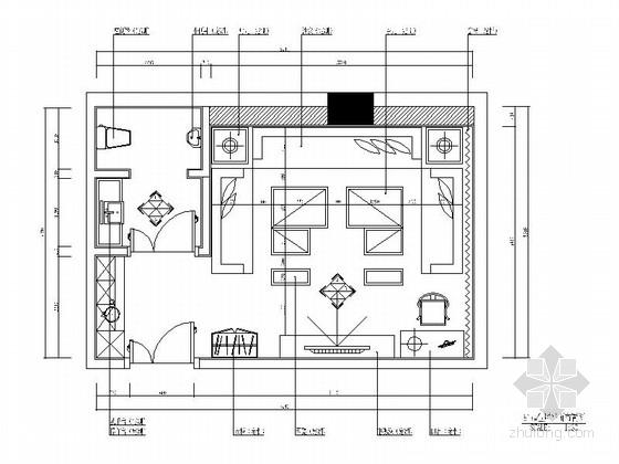 [北京]欧式豪华KTV包厢室内设计施工图