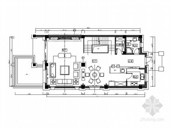 [宁波]港式三层别墅室内装修图(含实景)