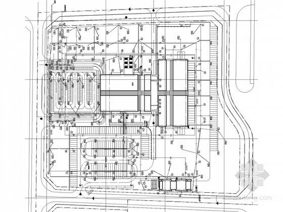 [山西]13万平大型汽车客运站给排水及消防图纸(水幕系统 水喷雾系统)