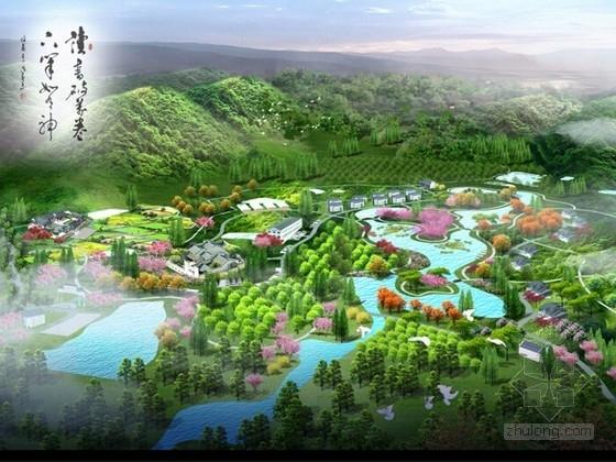 [浙江]现代农业示范区花园控制性设计方案(独家原创作品)