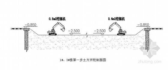 [天津]住宅工程土方开挖施工方案(附图)
