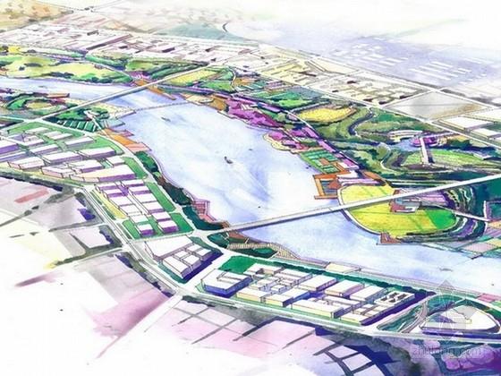 [河南]生态滨河区域设计方案