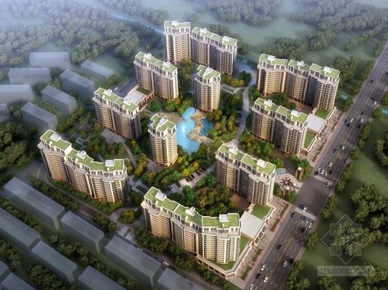[江苏]现代风格滨江高层住宅区规划设计方案文本