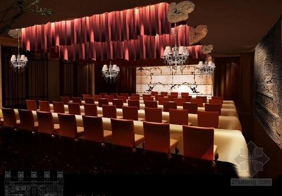 [山西]购物广场中心五星级综合型酒店设计方案效果图