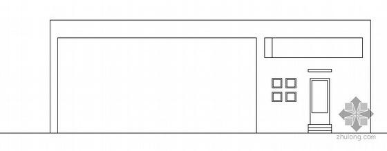 浦江镇120号配套商品房H地块公建门卫建筑方案图
