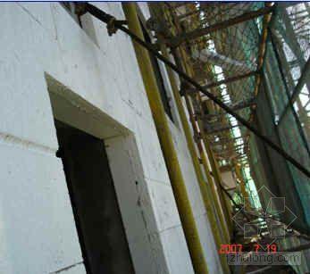 EPS板薄抹灰涂料饰面外墙外保温施工工法