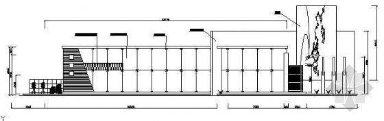 某商业广场售楼部结构设计图纸