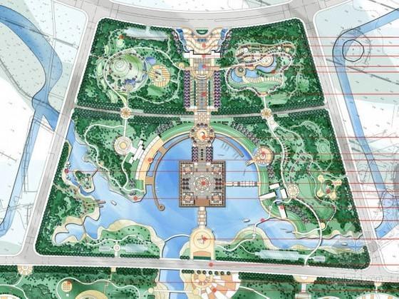 山东海滨公园详细规划设计