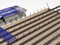 雨棚钢结构虚拟仿真施工安装流程