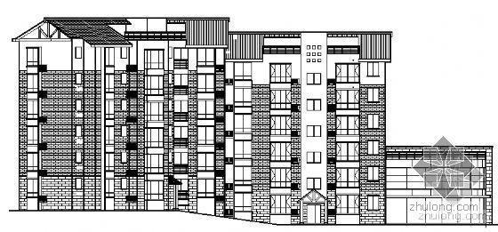 [免费资料]四川省三台慧川某小区住宅楼群建筑结构施工图