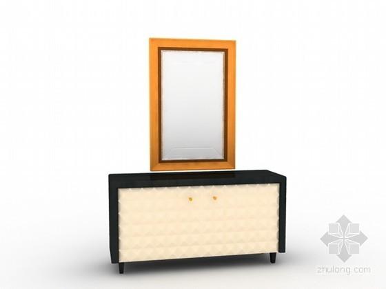 vr镜子材质资料下载-装饰柜