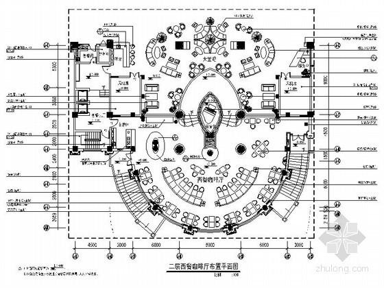 [天津]豪华酒店西式咖啡厅装修图