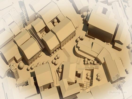 [重庆市]某会馆历史街区修建性详细规划方案文本