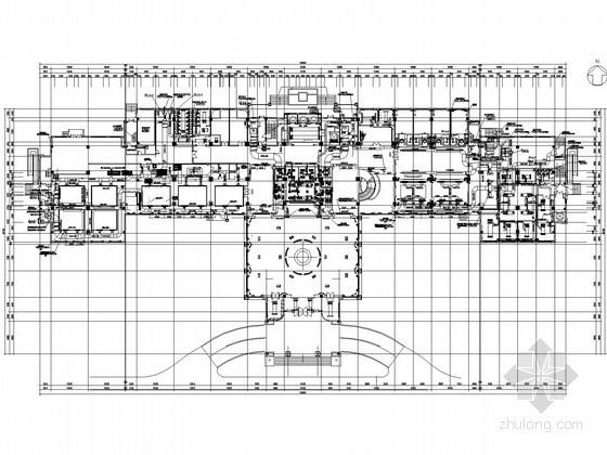 [南京]五星酒店空调通风深化设计图纸(含负荷计算书)