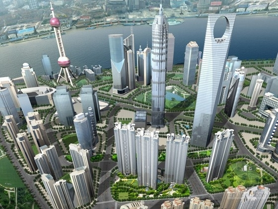 [上海]超高层住宅区规划及单体方案文本