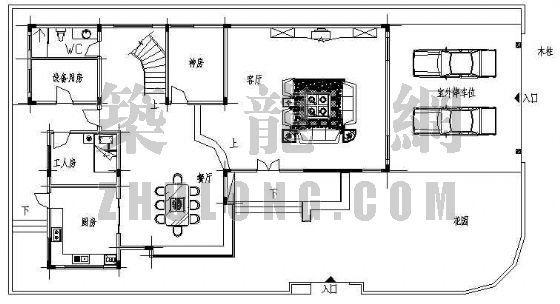 某别墅平面设计方案