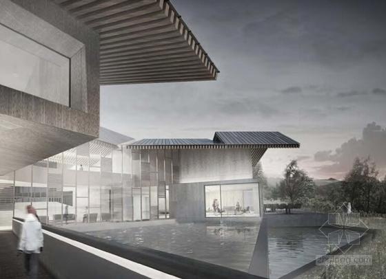 [山东]高品质养生型风景度假区规划设计方案文本-高品质养生型风景度假区规划效果图