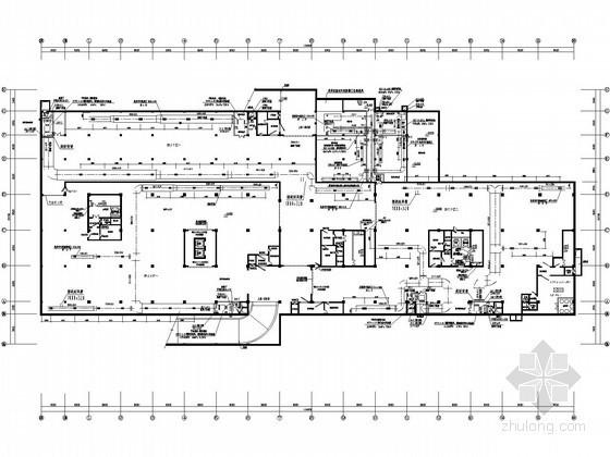 [安徽]市政办公楼地下室人防通风工程施工图纸