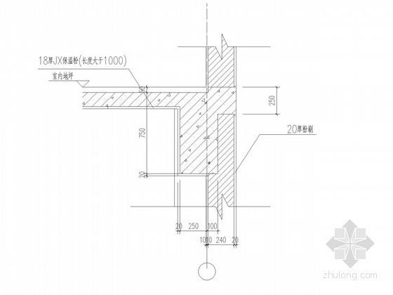 [上海]科技园规划墙身大样图(知名公司设计)