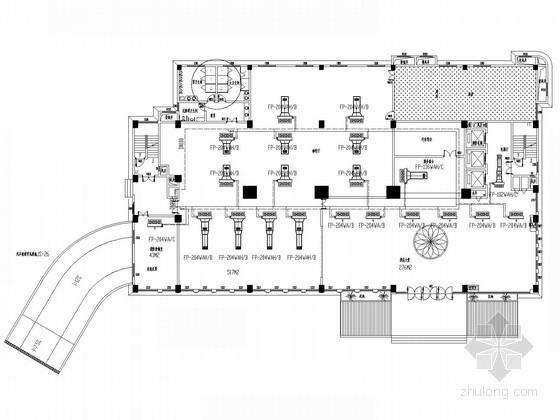 酒店中央空调系统设计方案图(全热新风)