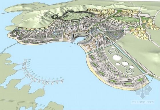 [大连]沿海综合性卫星城规划设计方案文本