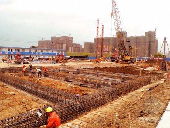 [深圳]地铁区间明挖段围护结构施工方案