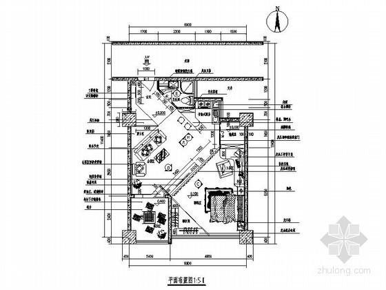 时尚家居专卖店室内设计图