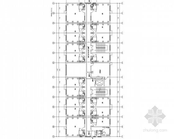 [安徽]老年公寓电气施工图(2014年火规)