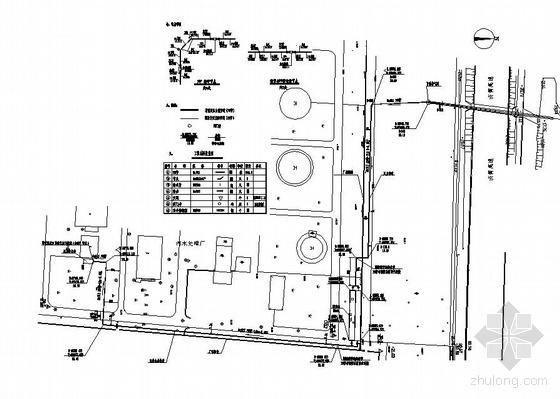 河北某污水处理厂1000立废水调节池图纸