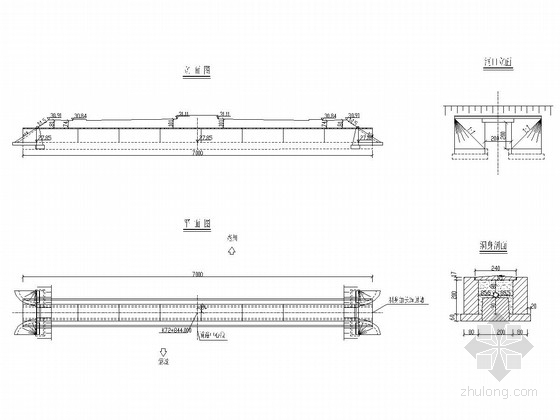 70x1m正板然气管道保护涵设计套图