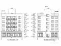 [西安]五层框架结构培训中心综合楼结构施工图(含建筑图)