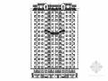 17层中式风格住宅楼及单体建筑设计施工图(立面极具特色)